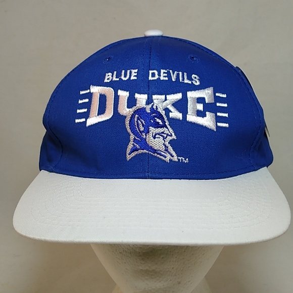 156e43e4be8b0 VTG 1984 Duke Blue Devils Snapback Hat Cap New